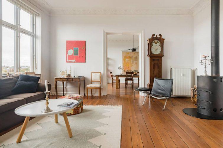 Appartement dans une maison historique à Copenhague