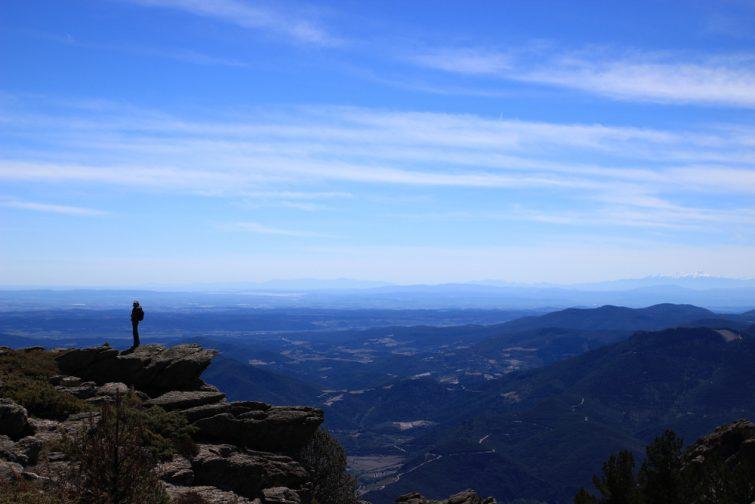 Visiter le Parc Naturel du Haut-Languedoc : Panorama depuis le Mont Caroux