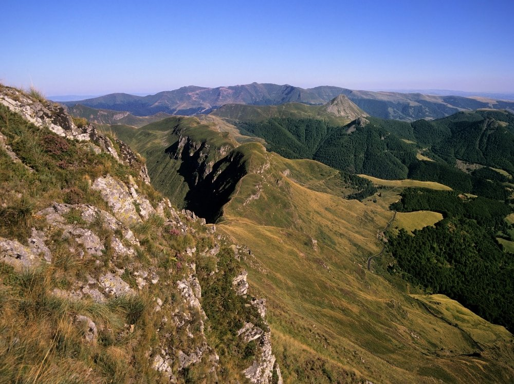 Monts du Cantal, à visiter en France