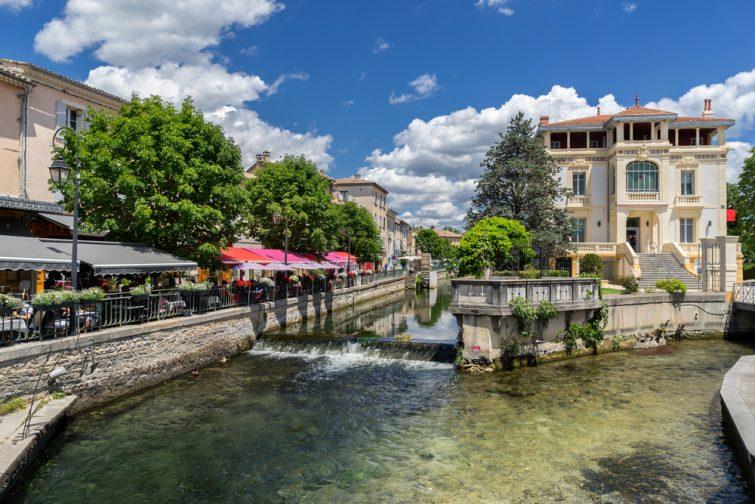 Visiter la Provence : L'Isle-sur-la-Sorgue