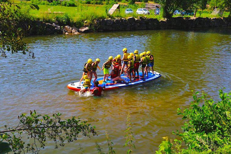 Visiter les Gorges de l'Aveyron : Paddle à Najac