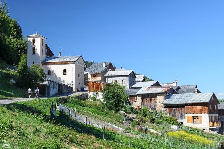 Le hameau du Villaret
