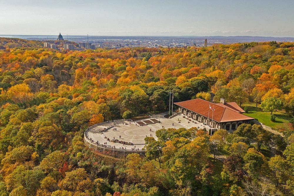 Visiter le Mont-Royal, l'un des incontournables à visiter au Québec