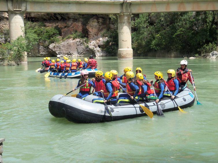 Activités outdoor à faire au Pays Basque : Rafting à Biarritz