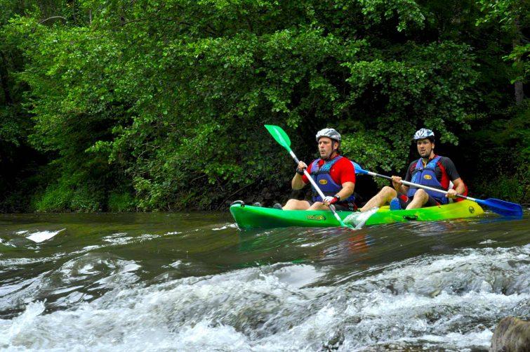 Rafting à Najac