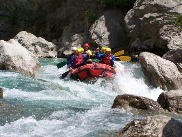 5 endroits où faire du rafting dans les Gorges du Verdon