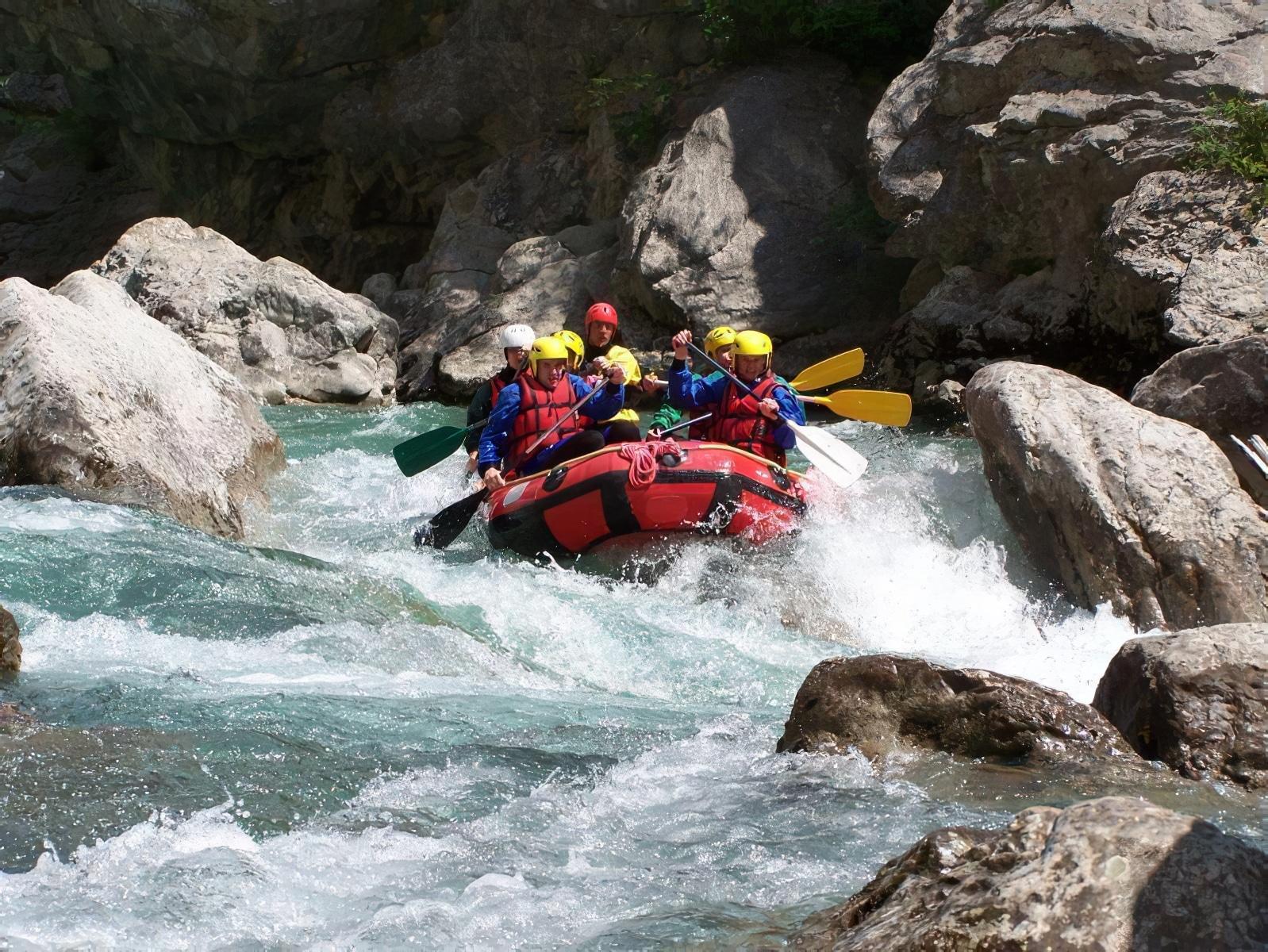 rafting verdon
