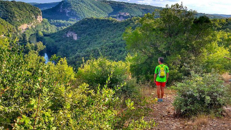 Randonnée dans les Gorges de l'Aveyron