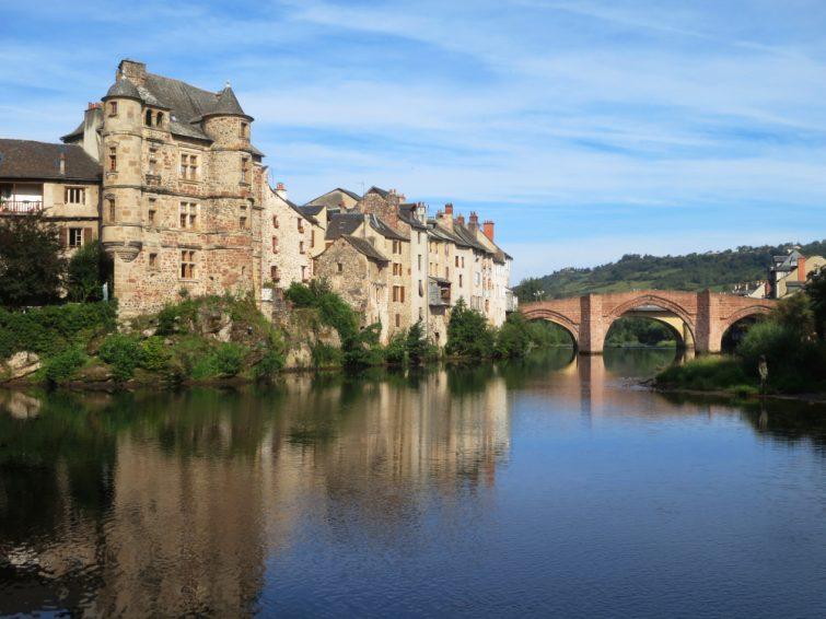 Village d'Estaing via le GR 65, Aveyron