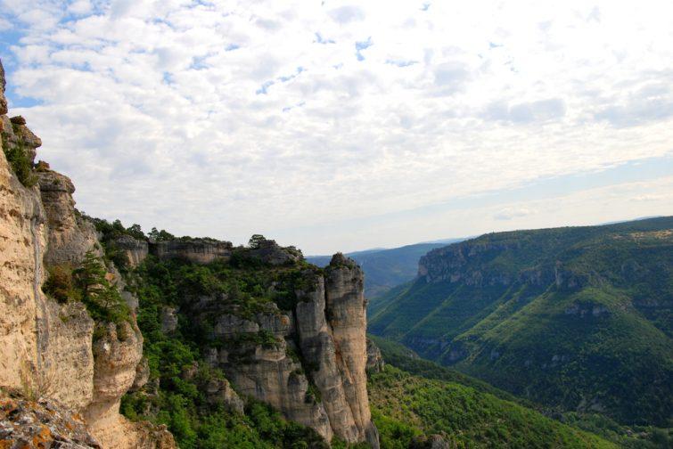 Randonnée dans la vallée de la Dourbie, Aveyron