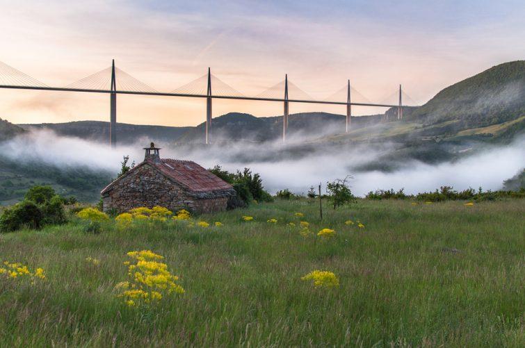 Randonnée au Viaduc de Millau