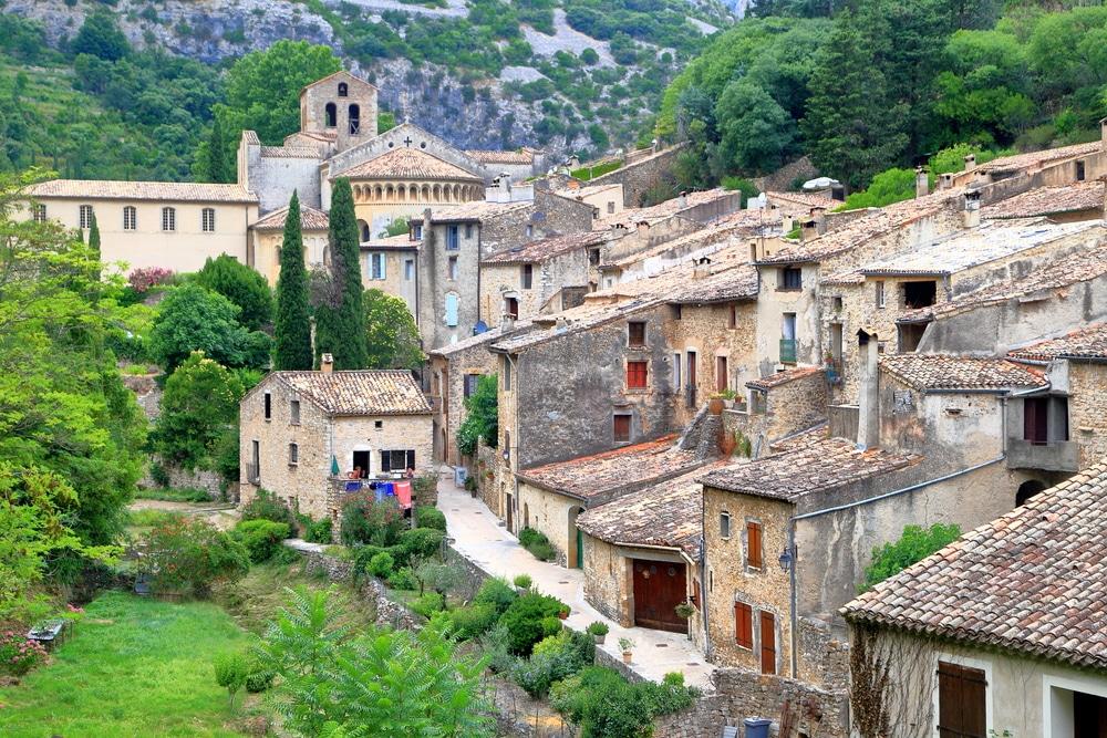 Village de Saint Guilhem le Désert, Occitanie