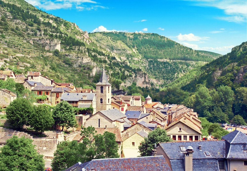 Village de Sainte Enimie