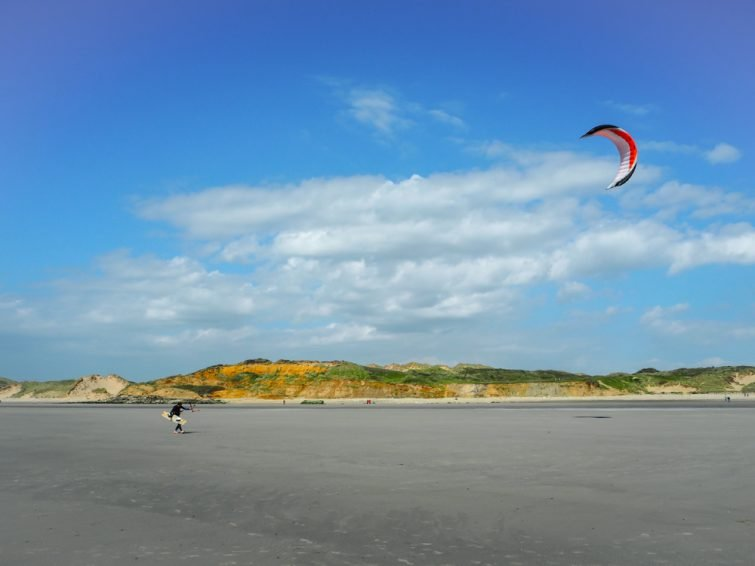 Visiter les Hauts-de-France : Kitesurf à Wimereux