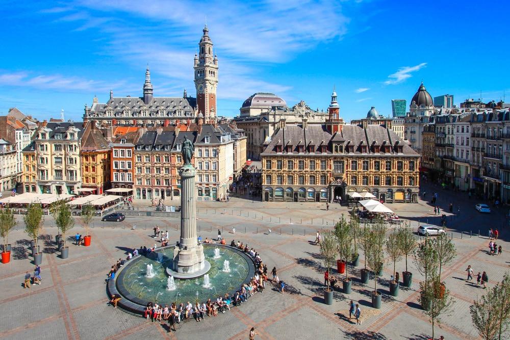 Visiter les Hauts-de-France : Grand'Place de Lille