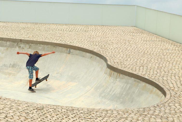Skatepark à Biarritz