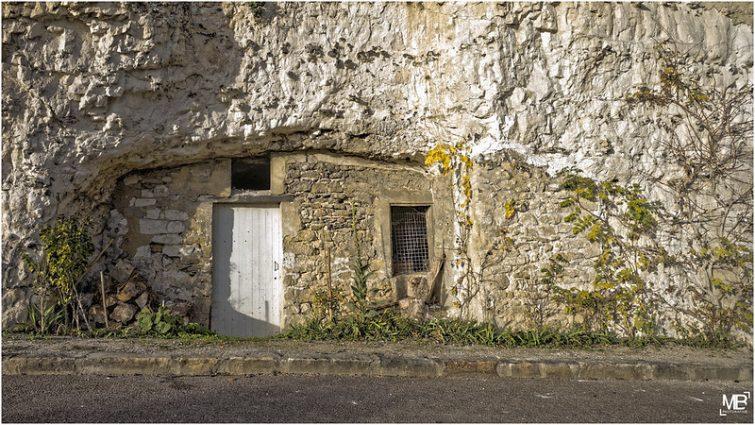 Charrières troglodytes de La Roche-Guyon