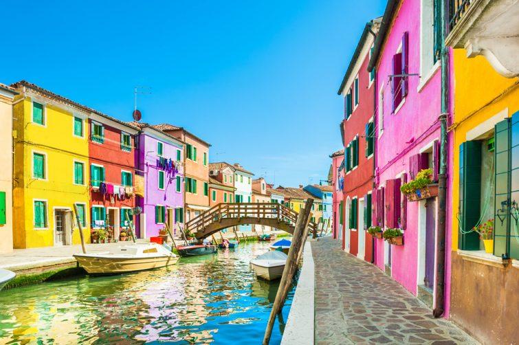 Burano, à faire dans les itinéraires à Venise