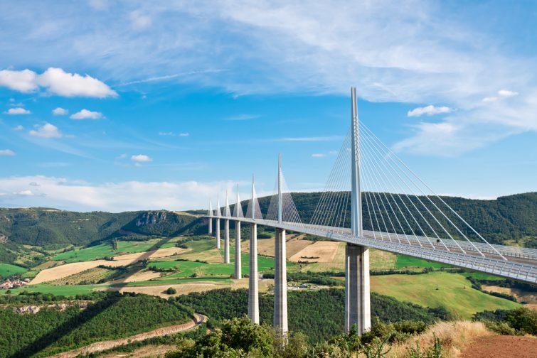 Viaduc de Millau, Aveyron