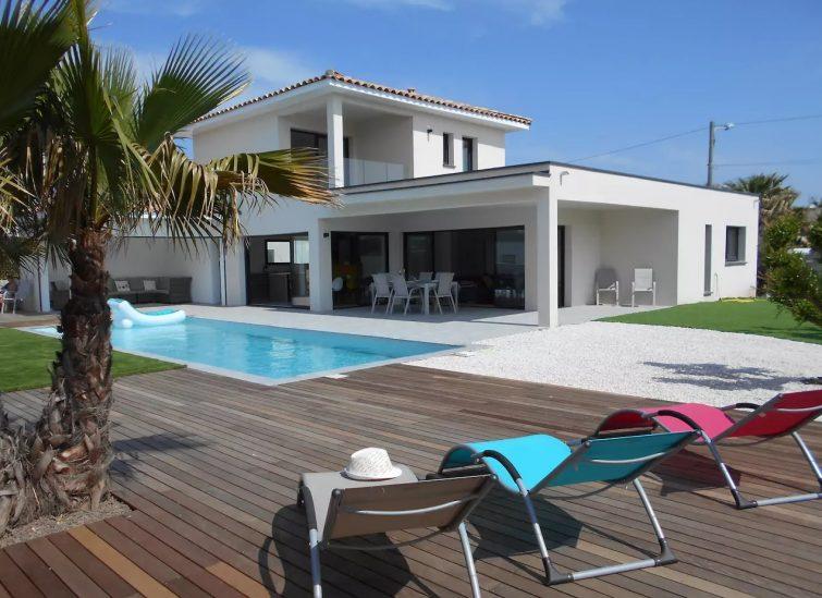 Airbnb au Cap d'Agde : villa contemporaine à louer