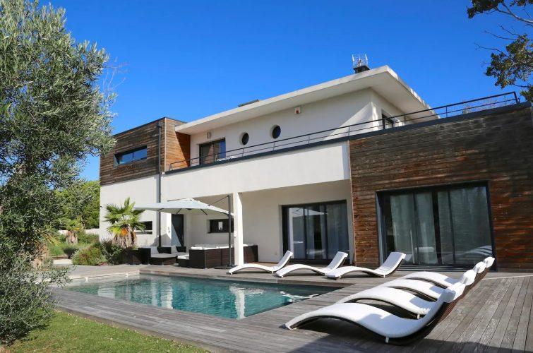 Villa proche de la plage au Cap d'Agde