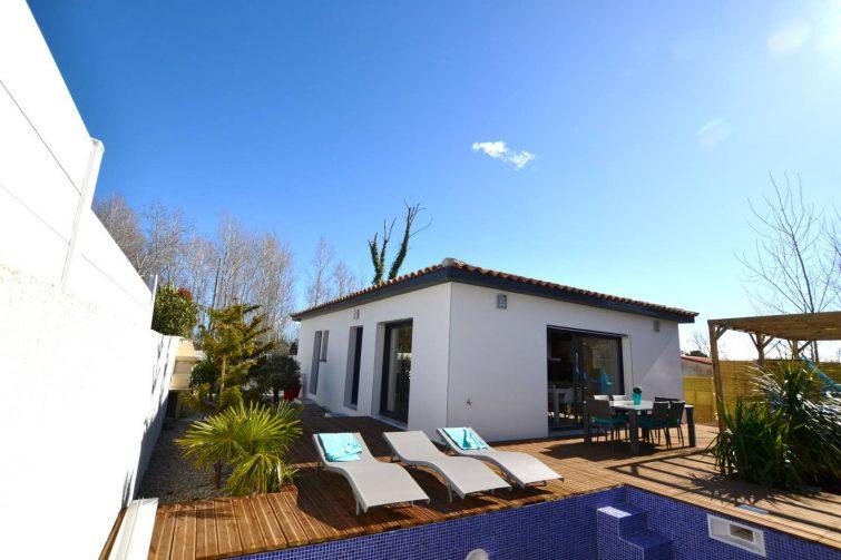 Villa avec piscine et jacuzzi au Cap d'Agde