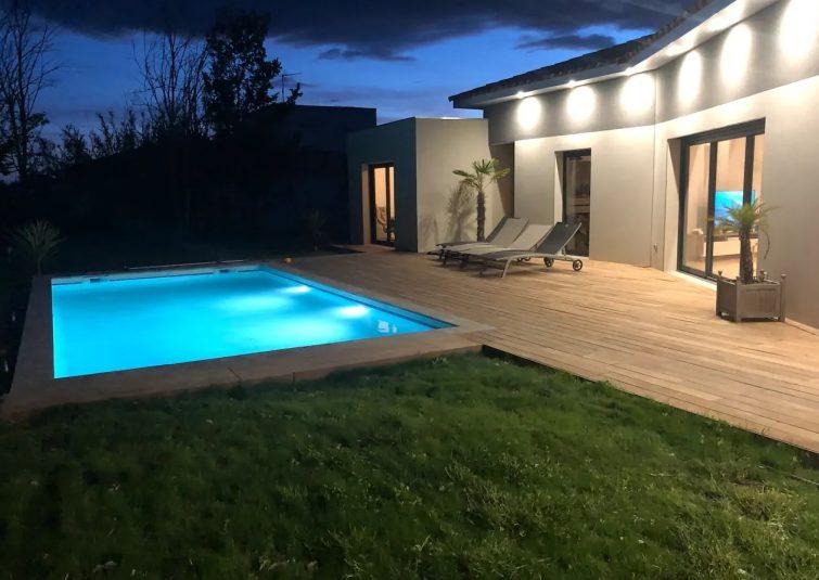 Villa avec piscine, Rochelongue, Cap d'Agde
