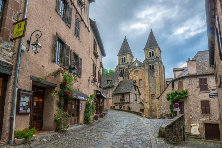 Conques, l'un des plus beaux villages médiévaux de France