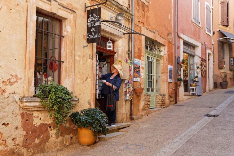 Visiter Roussillon : coeur du village