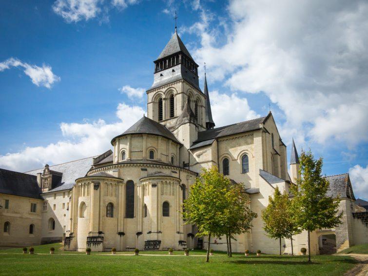 Visiter dans le Pays de la Loire : Abbaye de Fontevraud