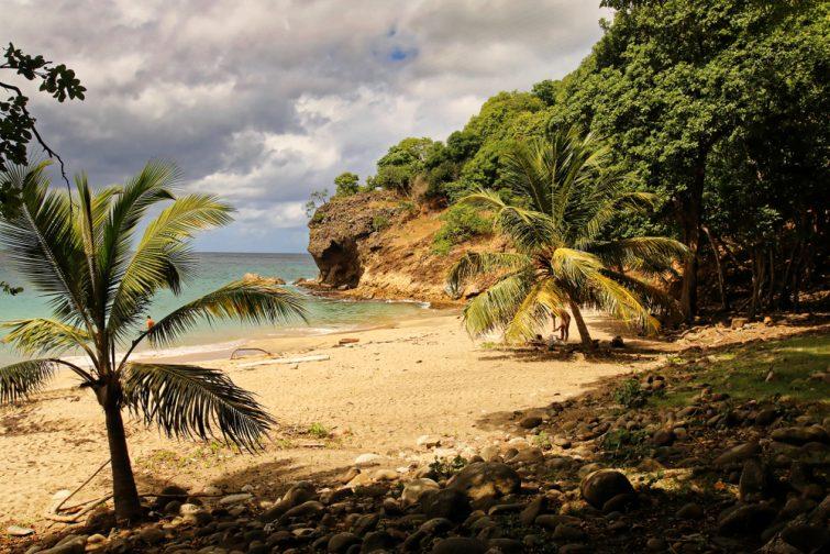 La plage Anse Crawen