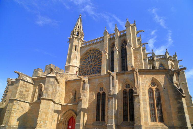 Visiter à Carcassonne : Basilique St-Nazaire