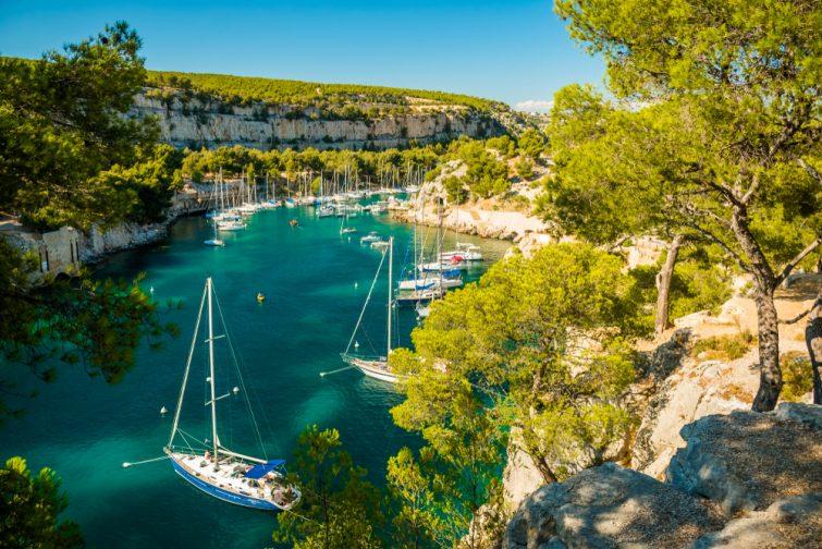 Bateau à Carry-le-Rouet - Calanques de Marseille