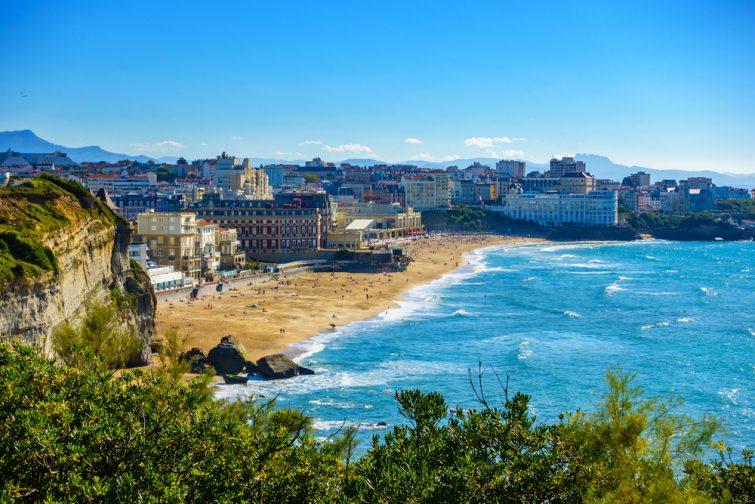 Visiter le Pays basque français : Biarritz