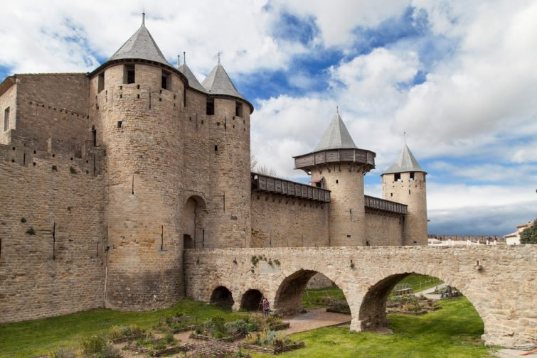 Visiter à Carcassonne : Château comtal