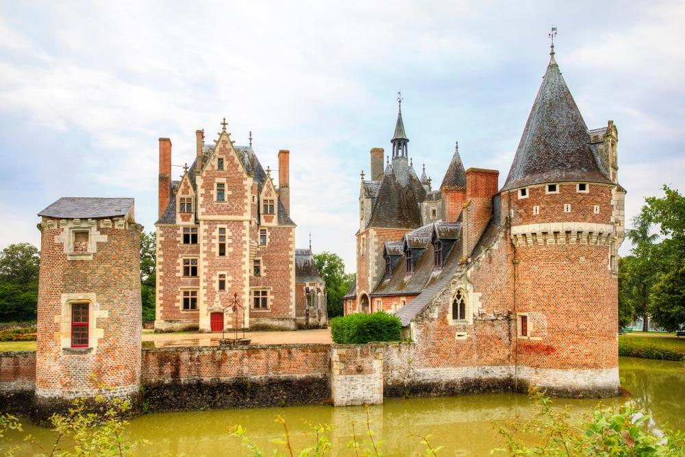 Chateau du Moulin in Lassay-sur-Croisne, Loire Valley, France