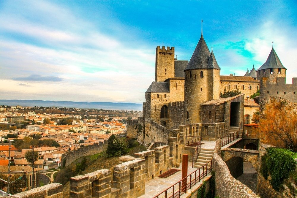 Visiter à Carcassonne : Cité médiévale de Carcassonne