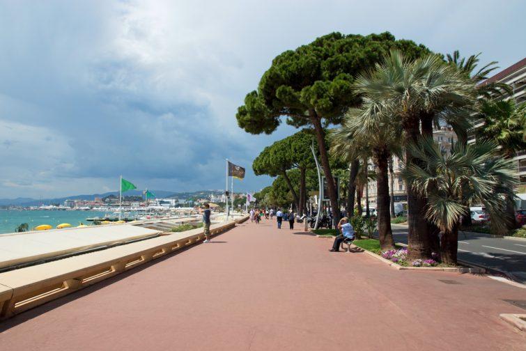 Visiter Cannes et ses balader sur la Croisette