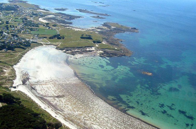 Visiter au Finistère : Dunes de Tréompan
