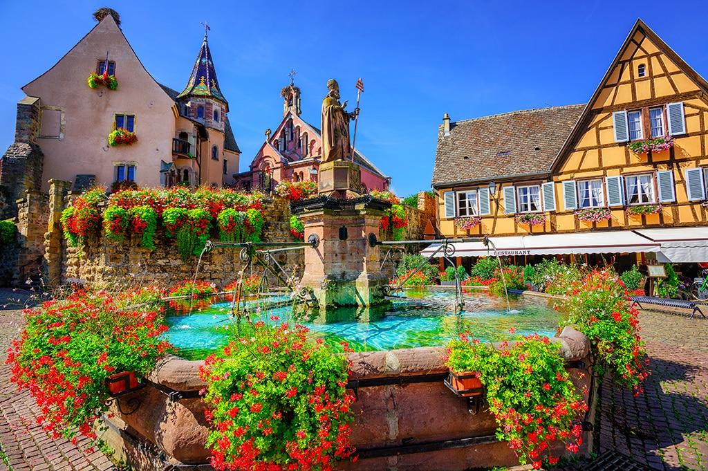 Plus beaux villages du Grand Est : Eguisheim