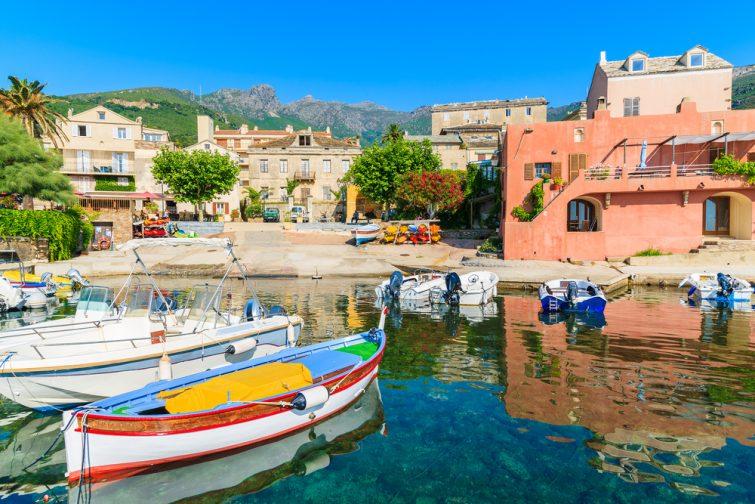 Visiter au Cap Corse : Erbalunga