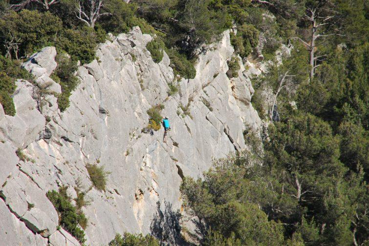 Visiter le Parc Naturel Régional du Luberon : Escalade au PNR du Luberon