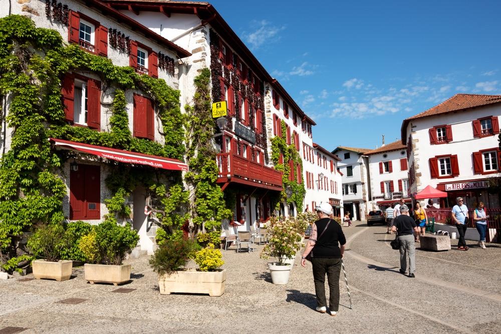 Plus beaux villages du Pays basque français : Espelette