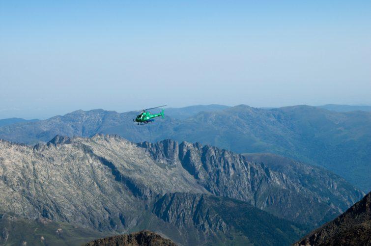 Activité outdoor à faire dans les Pyrénées : Hélicoptère