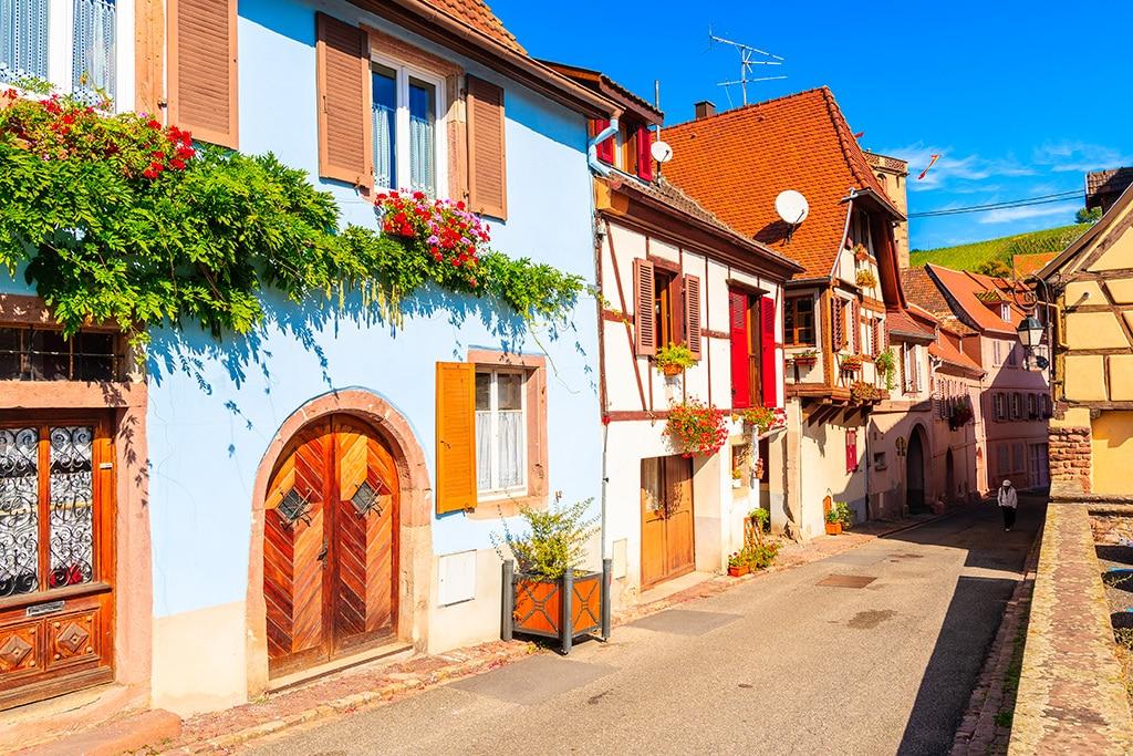Plus beaux villages du Grand Est : Hunawihr