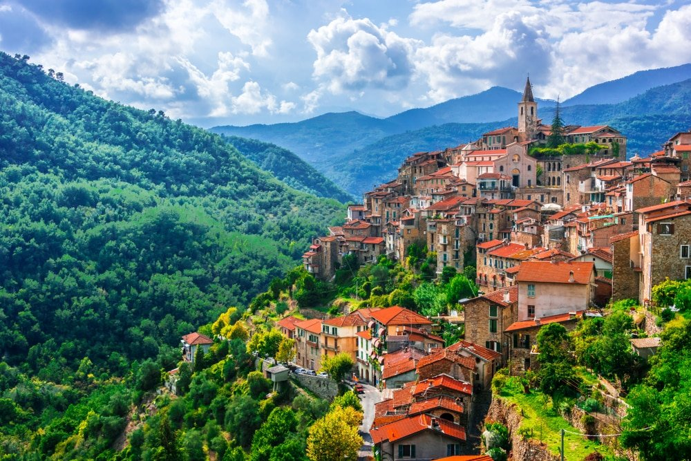 Imperia,balades autour de Nice Liguria, Italy.