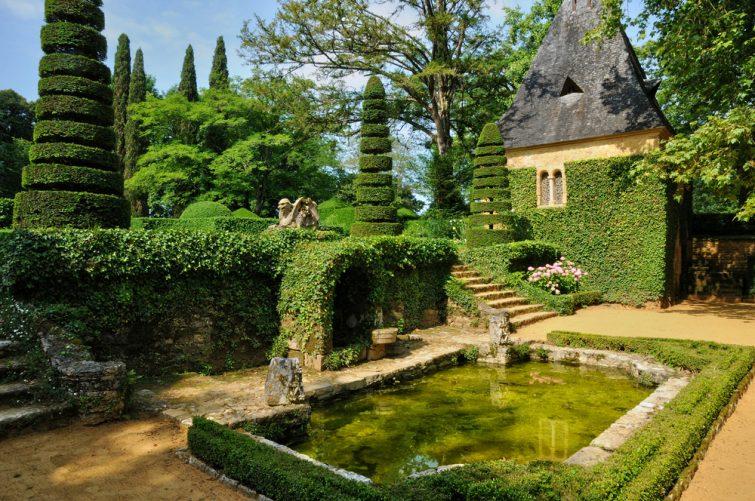Visiter dans le Périgord Noir : Jardins d'Eyrignac