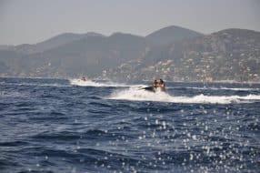 Jet ski à Cannes - Mise en avant