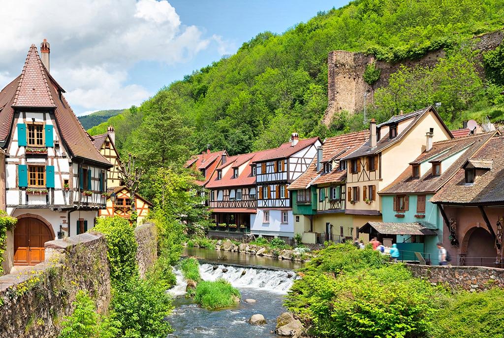 Plus beaux villages du Grand Est : Kayserberg