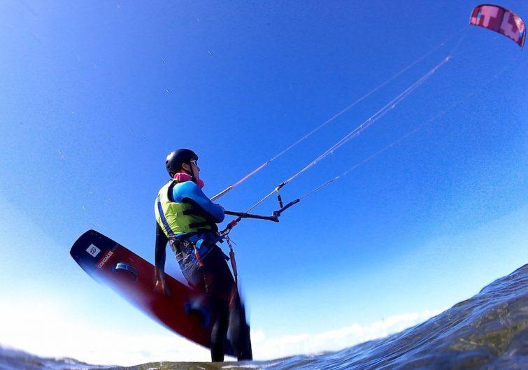 Kitesurf à Thau 2